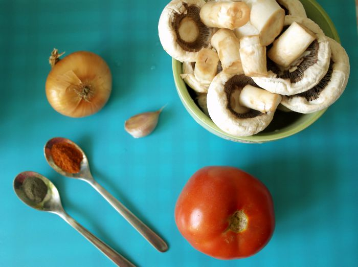 Tocănița de ciuperci (ciulama) pentru copii de la 10-12 luni