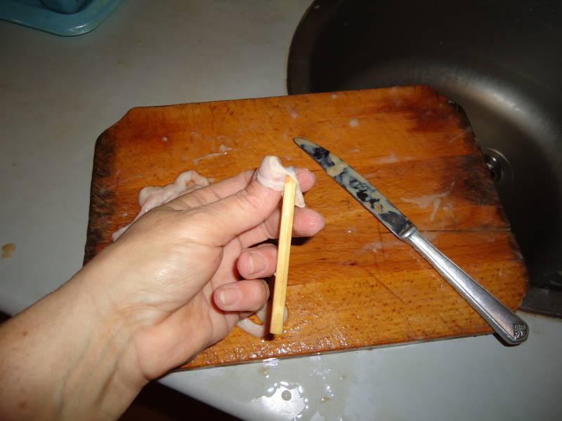 Cum se curăţă maţele pentru chişcă