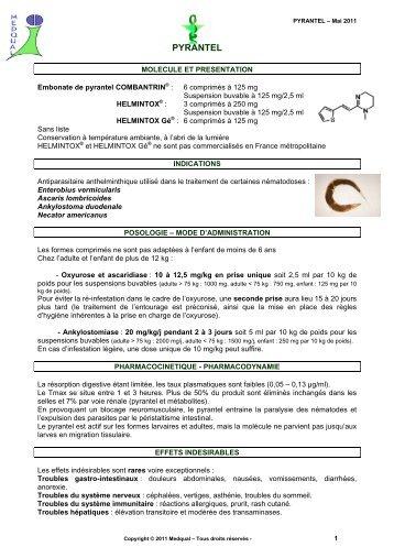 prevenirea viermilor la adulți 1 comprimat