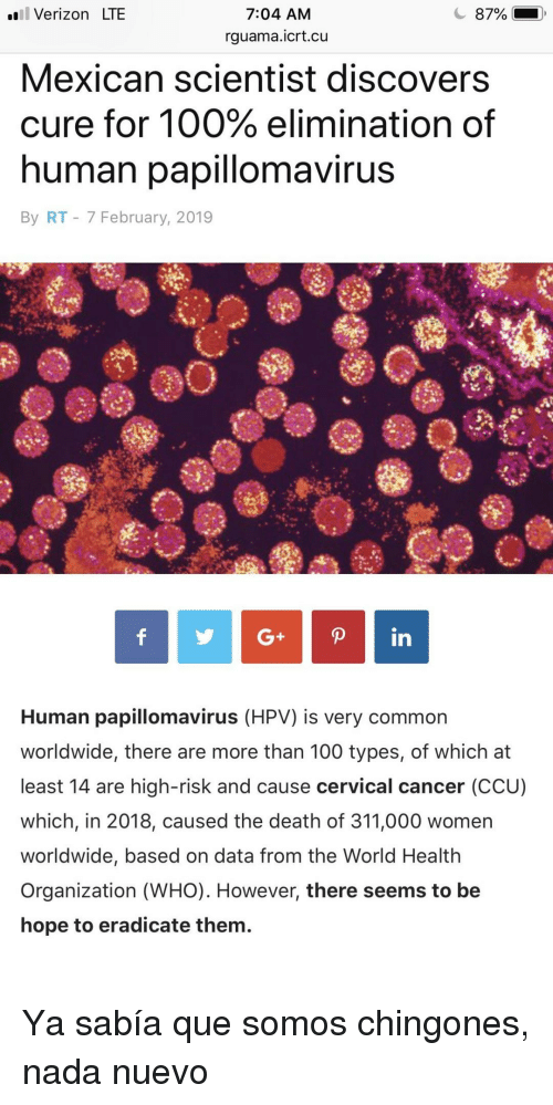 Hpv virus cure mexican scientist Hpv virus cure mexican