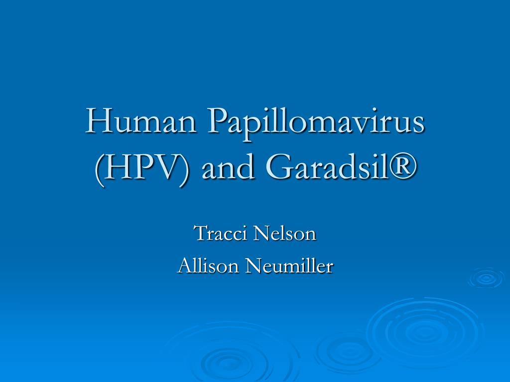 human papillomavirus hpv ppt