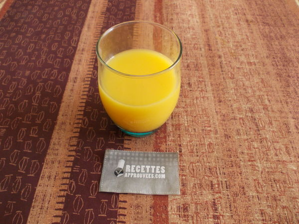 Nectar d'abricot avec Thermomix - Recette Thermomix