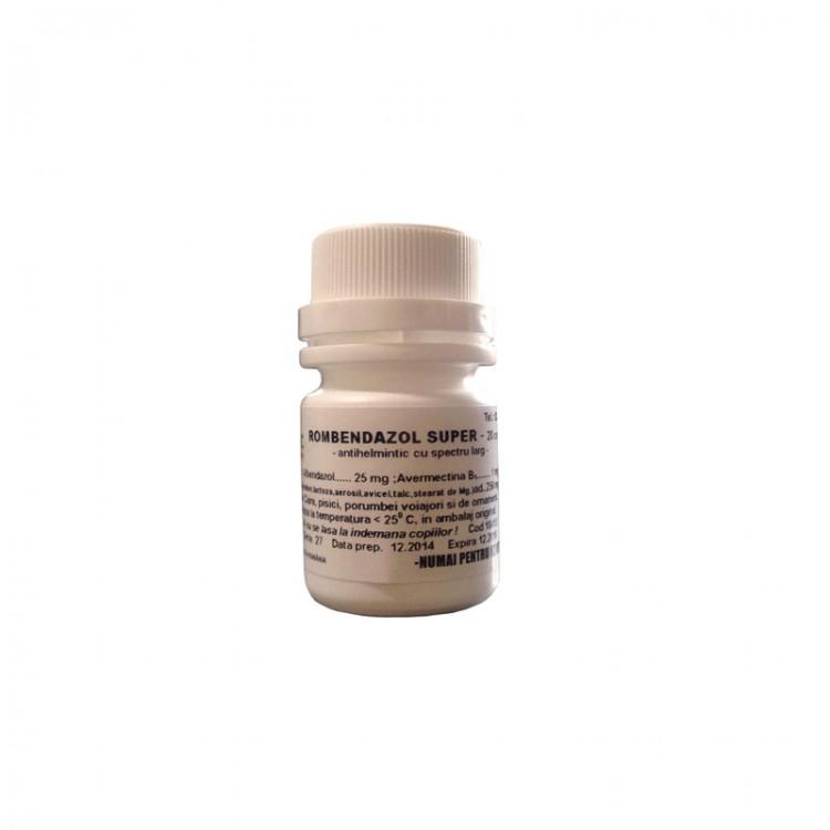 medicament antihelmintic cu spectru larg pentru prevenire