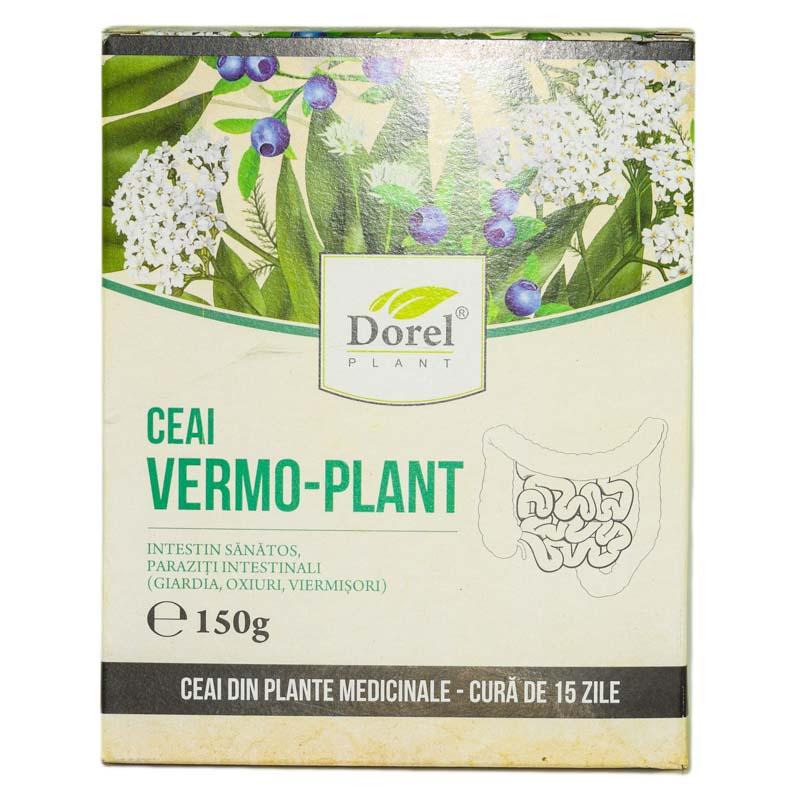Ceai Vermo-Plant Paraziți-intestinali, 150 g, Dorel Plant