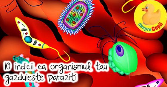 paraziții provoacă arsuri la stomac