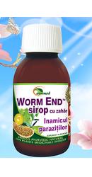 Nikvorm sirop pentru eliminarea parazitilor intestinali, 60 ml, Bio Vitality