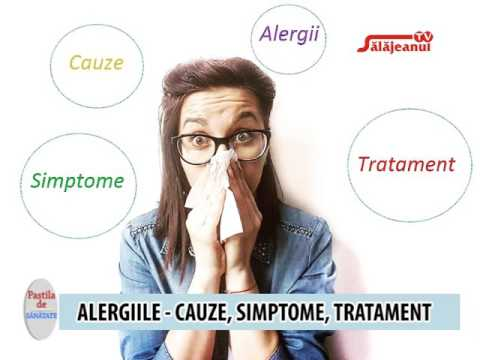viermi și alergii la tratamentul adulților